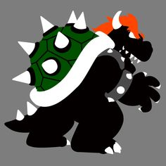 Nintendo Forever - Bowser King of the Koopas Art Print by kevinokev - X-Small Mario And Luigi, Mario Kart, Mario Bros, Nintendo Characters, Cartoon Characters, Batman And Robin Costumes, Super Mario Brothers, Classic Video Games, Amazing Adventures