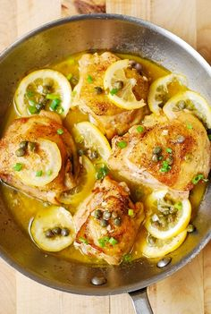 Make this chicken piccata for dinner tonight and you'll have only one pan to clean up! This chicken skillet dish includes a tasty lemon flavor to really spice up the chicken for a quick and healthy meal.