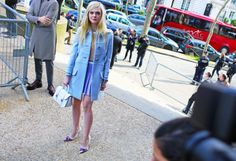 Street Style: Paris Fashion Week Fall 2014 Part Two - Vogue - #VoiceOfStyle