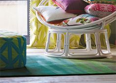 WovenGround Amazilla rug by Harlequin #SS15 #rugs #springcollection #interiors http://wovenground.net/modern/harlequin-rugs/amazilla/green