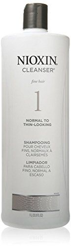 Nioxin 1 Cleanser Shampoo Normal To Thin Looking 338 oz Pack of 7 ** You can find out more details at the link of the image.(This is an Amazon affiliate link and I receive a commission for the sales)