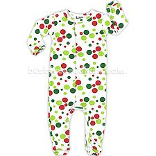 Give your little one the Christmas spirit with this fun polka dot jumpsuit from At Home, by Jumpers. These adorable holiday pajamas are perfect for baby girls or boys! Gender Neutral Baby Clothes, Holiday Pajamas, Kids Pajamas, Candyland, Jumpers, Red Green, Baby Girls, Cuffs, Infant