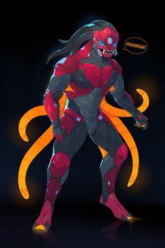 Alien Character, Character Concept, Character Art, Superhero Art Projects, Superhero Design, Lego Design, Alien Concept Art, Armor Concept, Monster Design