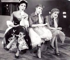 Ann Miller, Debbie Reynolds and Jane Powell - 'Hit the Deck' - 1955