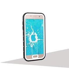 Galaxy S7 Waterproof Case, IP68 Certified with Built-in Screen Protector Extreme Durable Waterproof Shockproof Cover for Samsung Galaxy S7 (White) - Brought to you by Avarsha.com