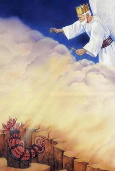 Revelation 20:1-3. And I saw an angel coming down out of heaven with the key of the abyss and a great chain in his hand. 2 He seized the dragon, the original serpent, who is the Devil and Satan, and bound him for 1,000 years. 3 And he hurled him into the abyss and shut it and sealed it over him, so that he would not mislead the nations anymore until the 1,000 years were ended. After this he must be released for a little while.