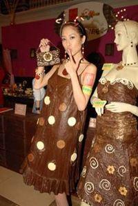 chocolate artificial em roupa - Pesquisa Google