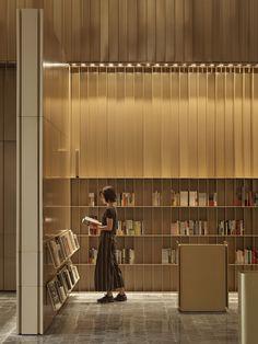 SHANGYING CINEMA - One Plus Partnership Interior Concept, Modern Interior, Interior Architecture, Interior Design, Japanese Apartment, Design Thinking Process, Book Cafe, Hotel Lobby, Modern Kitchen Design