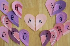 Heart Letter Match!