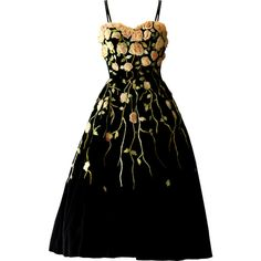 Pierre Balmain - edited by Satinee ❤ liked on Polyvore featuring dresses, gowns, vestidos, satinee, black ball gown, black gown, black dress, kohl dresses and black evening dresses