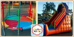 Aluguel de brinquedos para festas infantis, com Tobogã, Pula-pula, Monitor por apenas R$ 329, na Folia Kids. Parcele em até 12 x no cartão.
