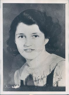 1940 Photo Murderer Ruth Teed Sidney Center NY Attractive Beauty Crime Frank