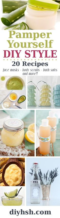 Pamper Yourself {DIY