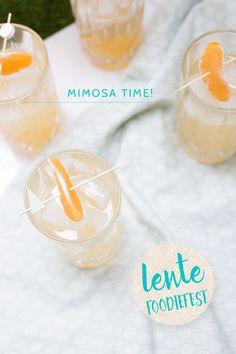 Mineola Mimosa's + mocktail | www.deedylicious.nl