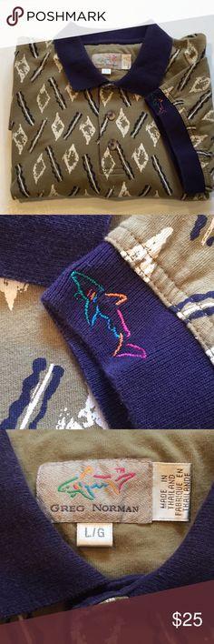 Greg Norman Golf shirt Greg Norman Golf shirt. Great shape. Greg Norman Shirts Polos