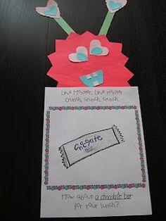 Kindergarten Valentine's Day on Pinterest | Valentines Day, Valentines ...