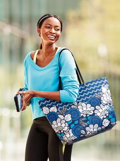 Vera Bradley Spring Pattern Play Tote and Pattern Play Accordion Wallet in Blue Bayou Laura Lee, Vera Bradley Luggage, Vera Bradley Patterns, Blue Bayou, Shoe Boots, Shoe Bag, Shoes, Pack Your Bags, Nautical Fashion