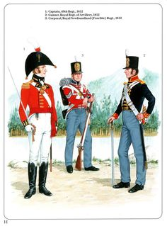 Napoleonic Military Paintings/Sketches/Uniform Plates - page 7 - Historical Discussion - Flying Squirrel Entertainment British Army Uniform, British Uniforms, Military Art, Military Fashion, Military Uniforms, Osprey Publishing, Flying Squirrel, War Of 1812, Napoleonic Wars