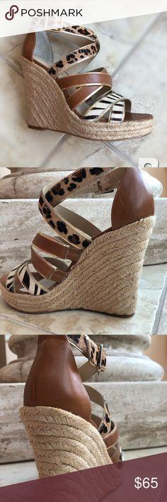 INC international concepts wedge sandals Inc international concepts Valencia tan wedge sandals. New INC International Concepts Shoes Wedges