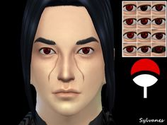 Sylvanes' Sharingan eyes_T.D.