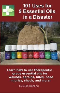 101 Uses for 9 oils cover 4.2.12 Essential Oils for Common Sense Disaster Preparedness