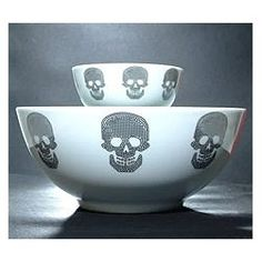 Skull Bowls
