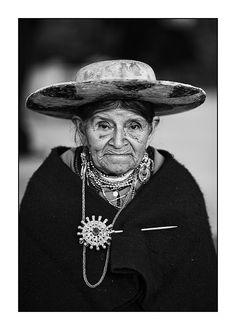 Saraguro woman in Ecuador