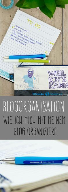 Anzeige für Schneider Schreibgeräte. #blogorganisation. #blog #tipps. #listen. #organisieren #struktur #bloggen #blogger #schneiderpen