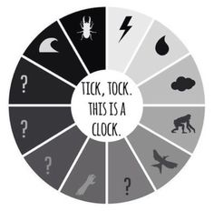 Tic toc! Catching fire, this is the clock