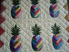 pineapple quilt   caledonia quilter