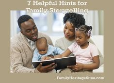 Get the kick needed to start writing your family history! Start Writing, Your Family, Heritage Site, Family History, Genealogy, Storytelling, Helpful Hints, Kicks, Told You So