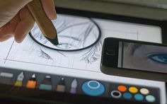 Mastering Paper by FiftyThree: The Grid Method //Useful tips for every user.