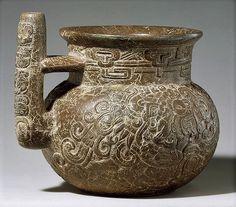 Jarra maya, siglo I a.c.