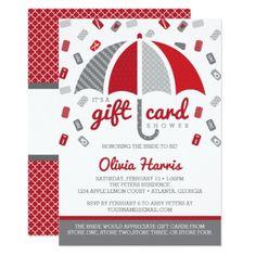 wedding shower gift card shower invitation gift card baby shower baby shower