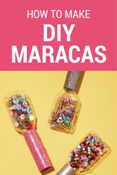 Get ready to shake it off! These easy DIY maracas are made out of water bottles!