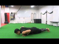 43.【筋トレ】1分間〜ながらトレーニング -Side to Side Push-Up-