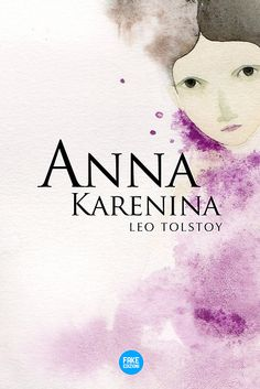 Anna Karenina. Lev Tolstoj.  Book cover Arianna Floris