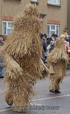 Whittlesea Straw Bear Festival Annual celebration - January - The Whittlesea…