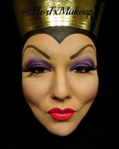 Amazing Evil Queen make up! Flor Fx makeup artist.