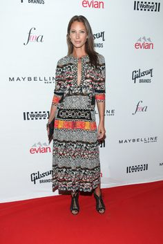 The only thing that has changed about Christy Turlington Burns since the 90's is her haircut.