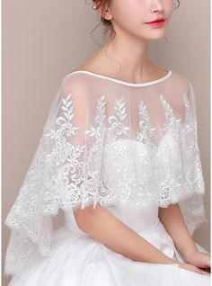 Evening Dresses For Weddings, Event Dresses, Lace Weddings, Tulle Wedding, Dream Wedding Dresses, Ball Dresses, Bridal Dresses, Wedding Gowns, Wedding Bolero