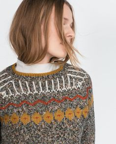 pretty fall sweater <3