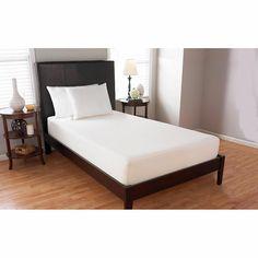 """$329 Comfort Tech 10"""" Serene Foam Twin XL Mattress"""