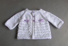 marianna's lazy daisy days: Little Jay ~ Premature Baby Cardigan Jacket Easy Baby Knitting Patterns, Free Baby Patterns, Baby Cardigan Knitting Pattern Free, Free Knitting, Free Pattern, Crochet Patterns, Sweater Patterns, Knitting Ideas, Knitting Stitches