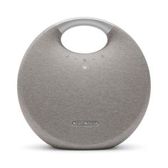 The Harman Kardon Onyx Studio 5 is premium portable Bluetooth speaker. Featuring an elegant design, superior sound and supports up to 8 hours of playtime. Bulthaup Kitchen, Signal To Noise Ratio, Cool Bluetooth Speakers, Harman Kardon, Sound Design, Fabric Covered, Icon Design, Cool Designs, Thesis