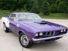 1971 Plymouth Barracuda 440