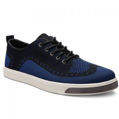 Stylish Lace-Up and Color Matching Design Men's Casual Shoes #men #shoes #fashion #style