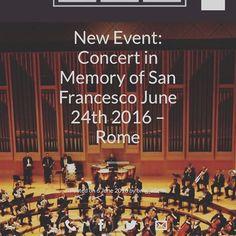Read our new article! 🔜 Concert in memory of San Francesco. #FollowUs #Bam #WebSite #ReadIt #Blog #Blogging