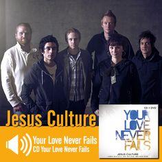 """Escute a música """"Your Love Never Fails"""" do CD Your Love Never Fails do Jesus Culture: http://www.onimusic.com.br/player/player.aspx?IdMusica=734&utm_campaign=musicas-oni&utm_medium=post-14nov&utm_source=pinterest&utm_content=jesus-your-love-never-fails-trecho-player"""