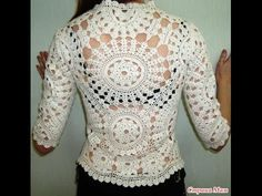 47 Crochet Cardigan For College - Fashion New Trends Sexy Crochet Cardigan and how to do it Crochet Bolero Pattern, Gilet Crochet, Crochet Coat, Crochet Jacket, Freeform Crochet, Crochet Cardigan, Crochet Skirts, Crochet Clothes, Knitting Patterns